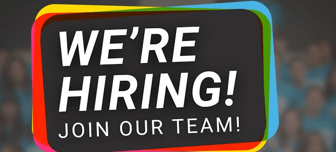 We're Hiring... Join Our Team!